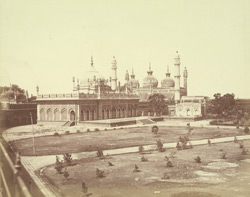 Imambara and the Juma Musjid [Rampur]